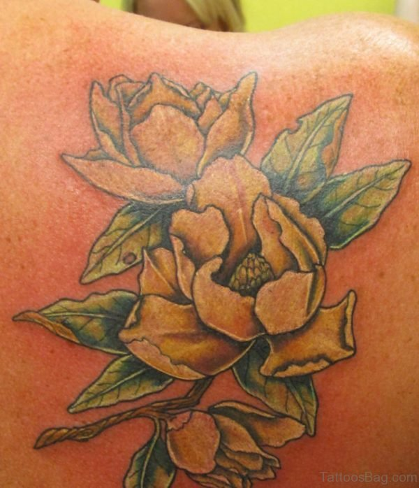 Yellow Magnolia Tattoo