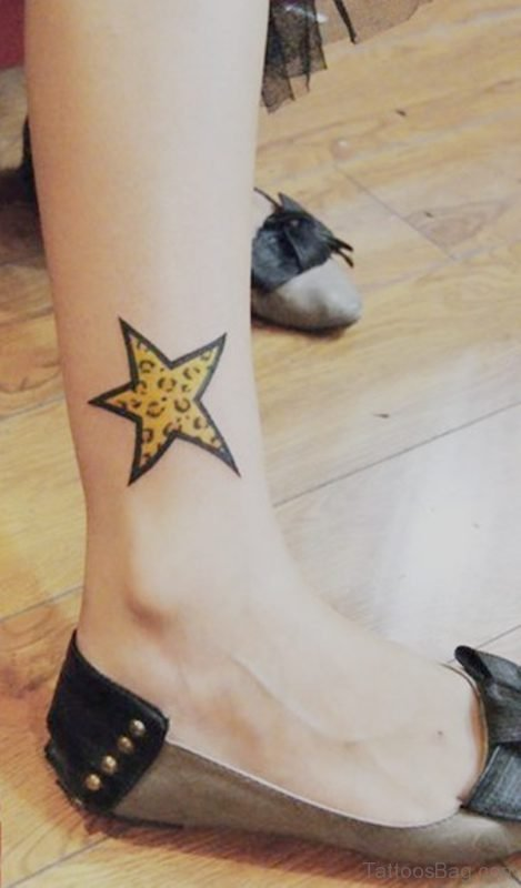 Yellow Star Tattoo