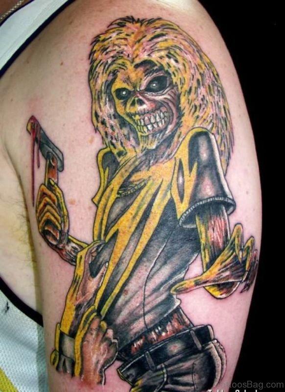 Zombie Skull Tattoo