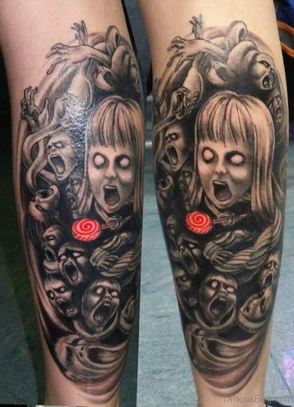 Zombie Tattoo Design