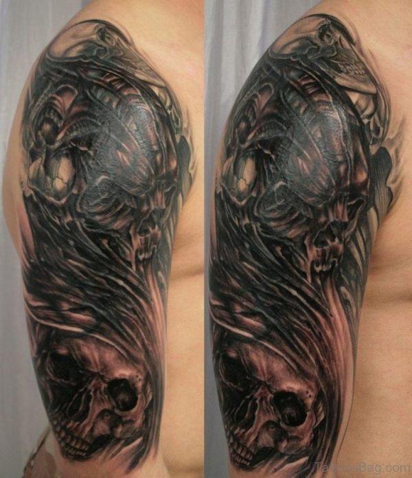 Zombie Tattoo Design Picture