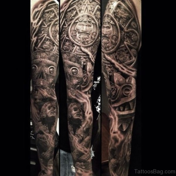 Amazing Warrior Tattoo