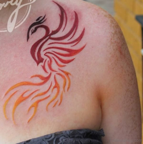 Red Phoenix Tattoo