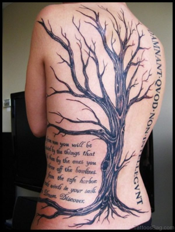 Ree And Wording Tattoo
