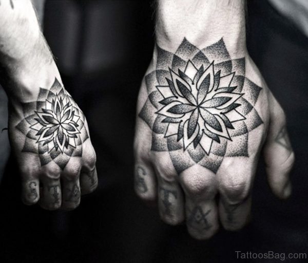 Admirable Mandala Tattoo