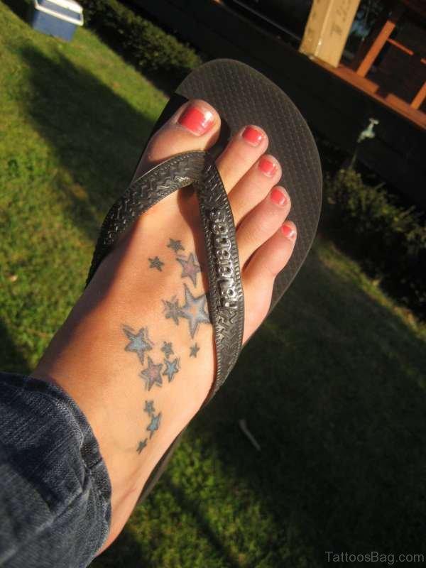 Adorable Stars Tattoo