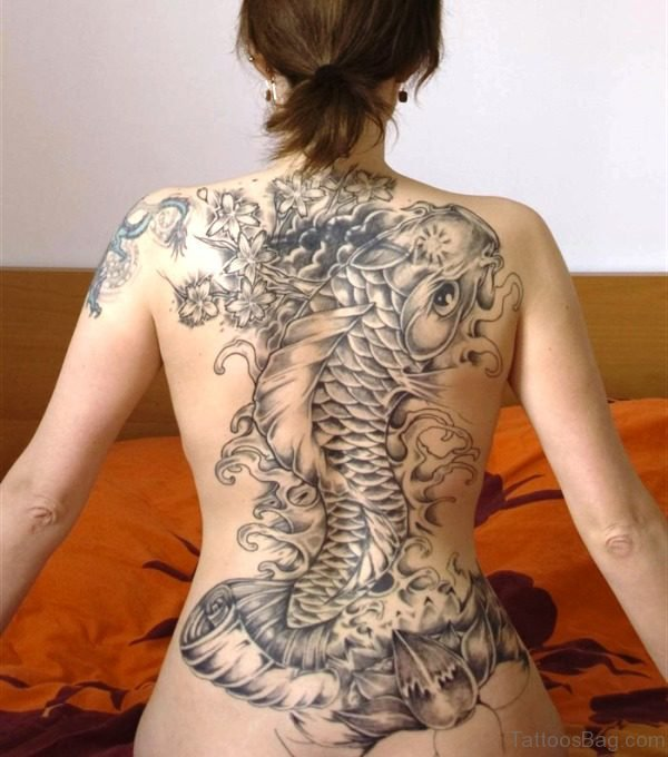 Adorable Tattoo On Back