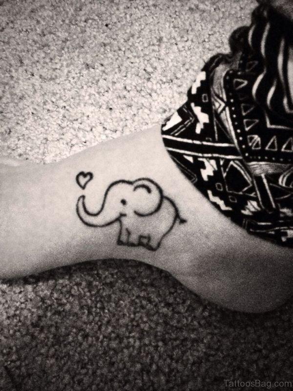 Amazing Elephant Tattoo Design