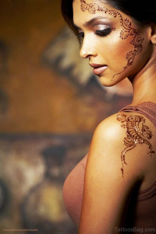 Amazing Henna Design Tattoo