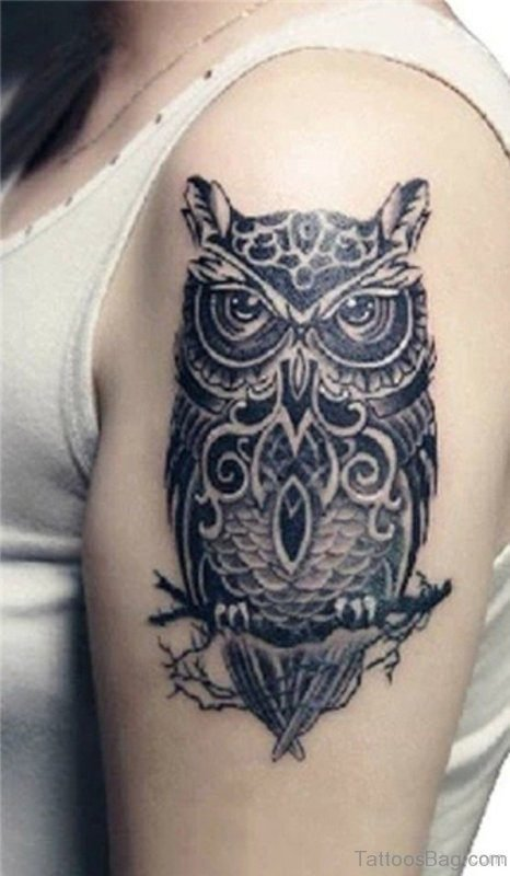 Amazing Owl Tattoo Design