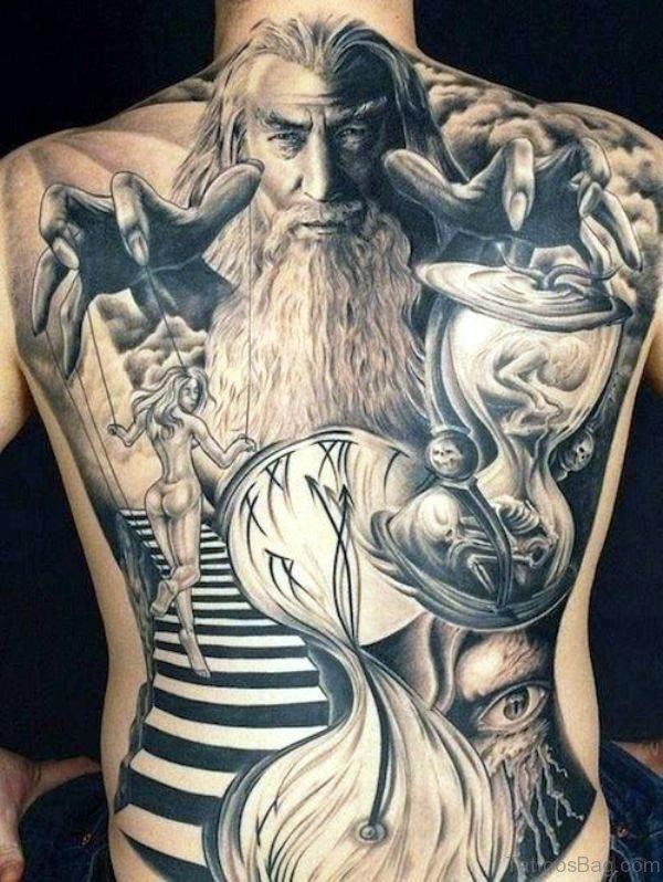Amazing Tattoo On Back