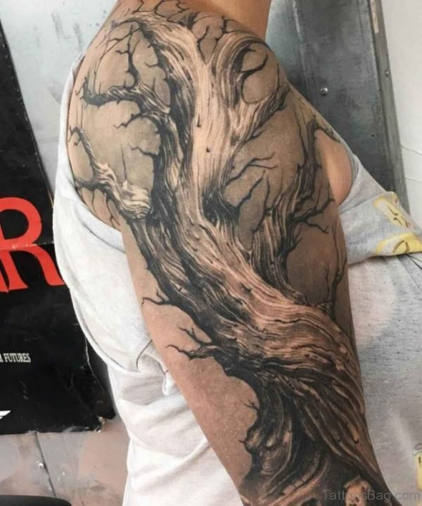 Amazing Tree Tattoo