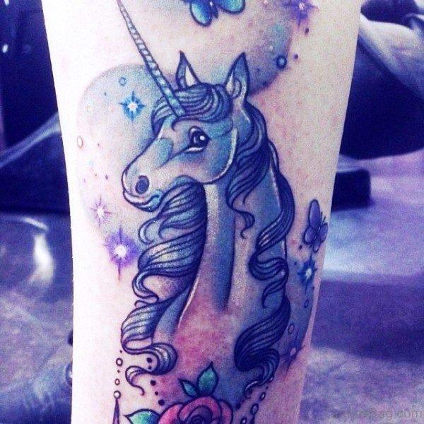 Amazing Unicorn Tattoo 1