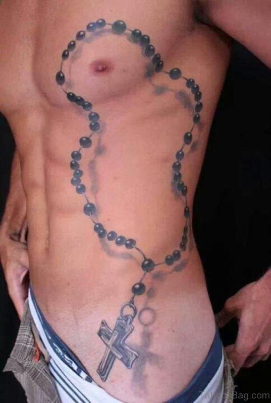 Amazing Rosary Tattoo