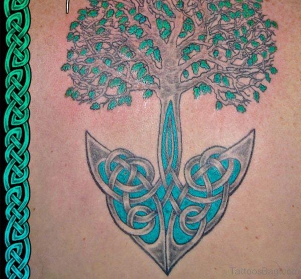 Anchored Tree of Life Tattoo
