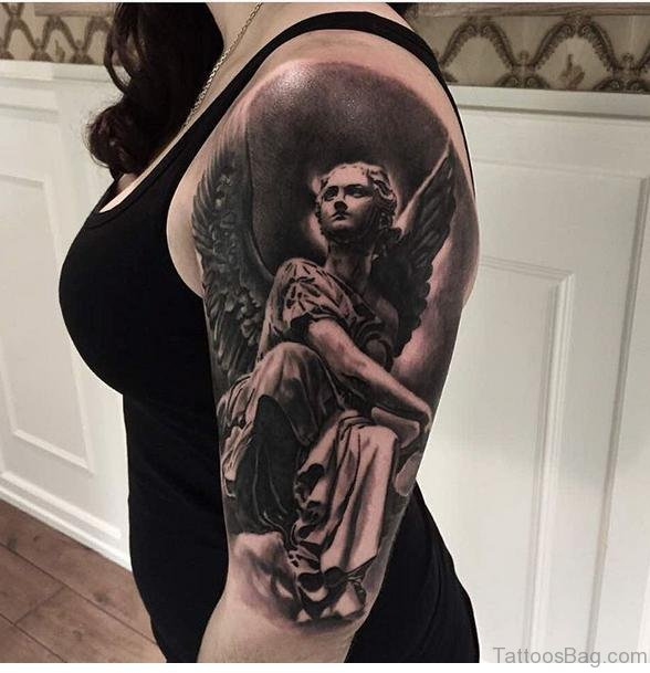 Angel Tattoo Shoulder