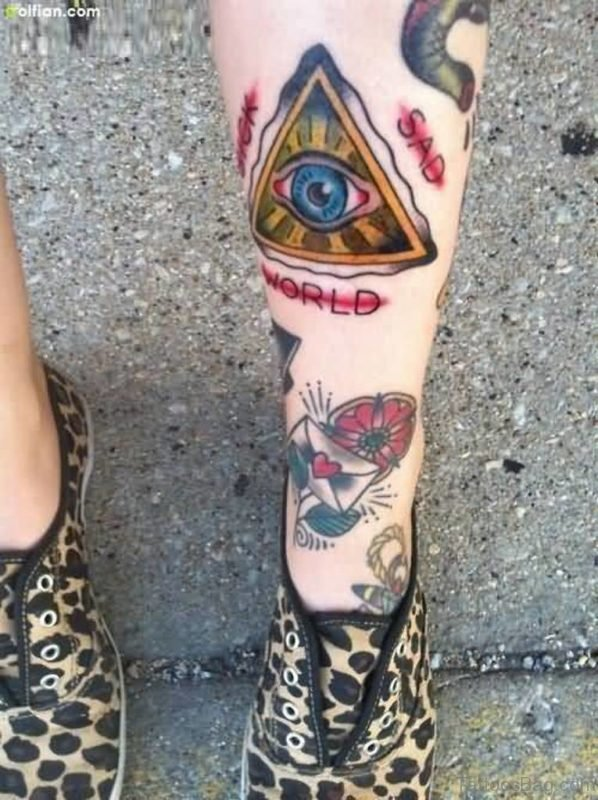 Animated Eye Tattoo