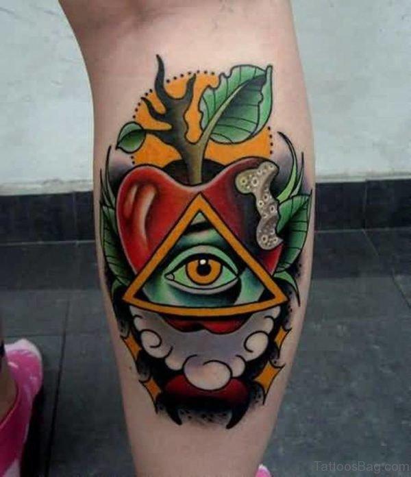 Apply Eye Tattoo On Hand