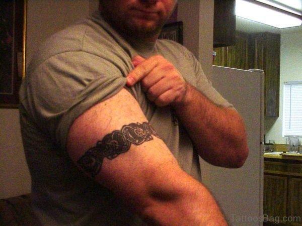 Armband Tattoo On Shoulder