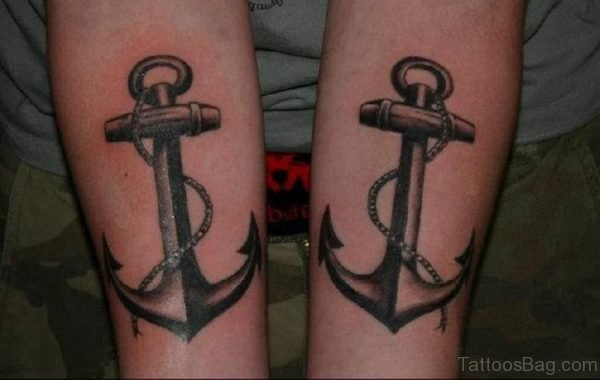 Attractive Anchor Tattoo