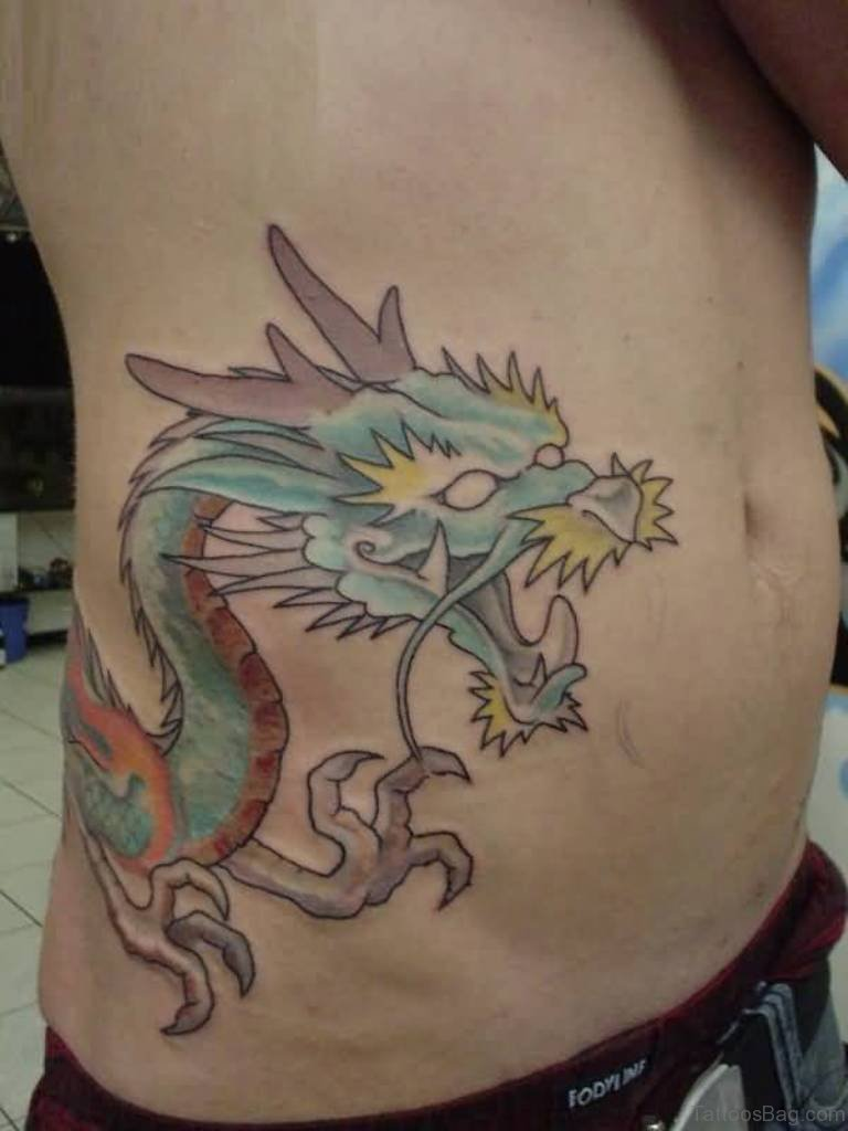 18 dragon tattoos for stomach