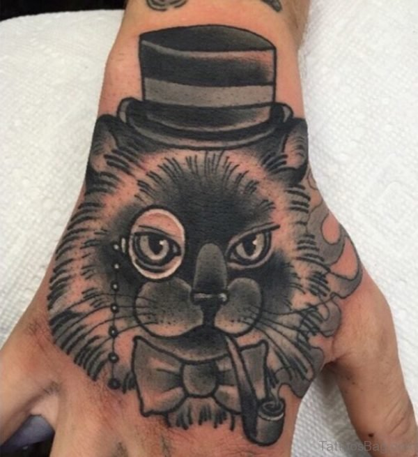 Attractive Cat Tattoo