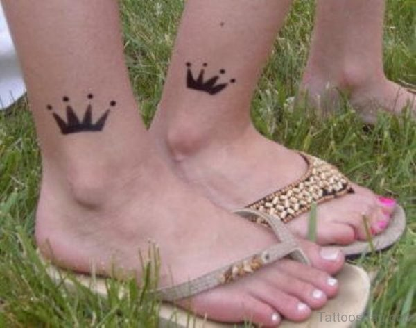 Attractive Crown Tattoo