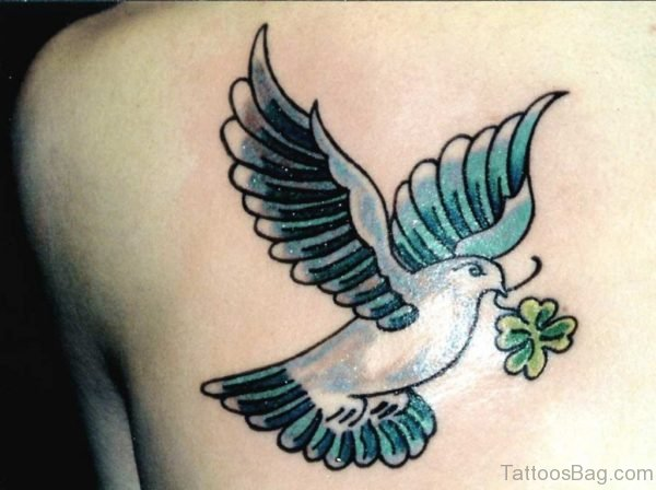 Attractive Dove Tattoo