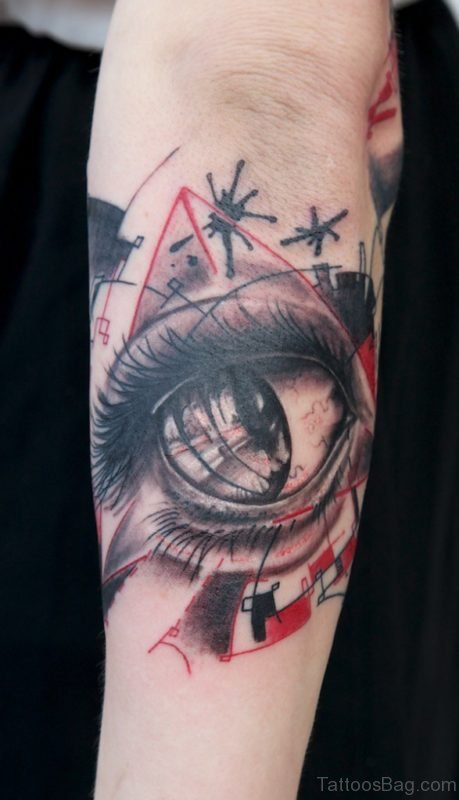 Attractive Eye Tattoo