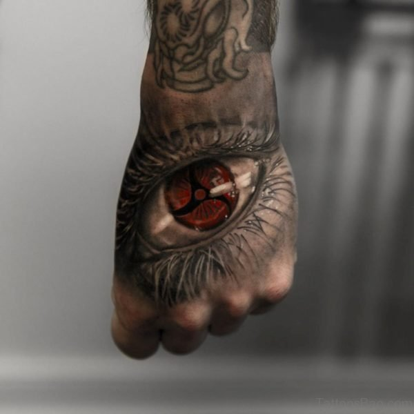 Attractive Eye Tattoo