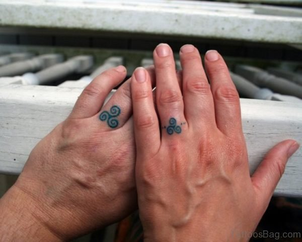 Attractive Finger Tattoo