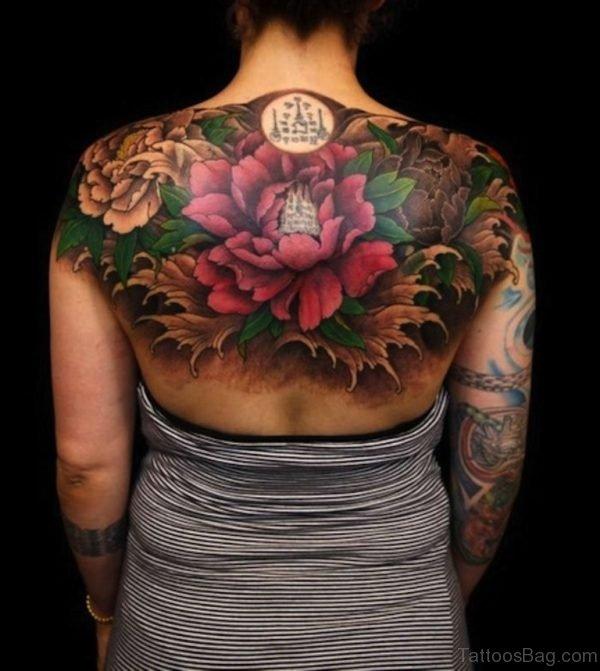 Attractive Flowers Tattoo