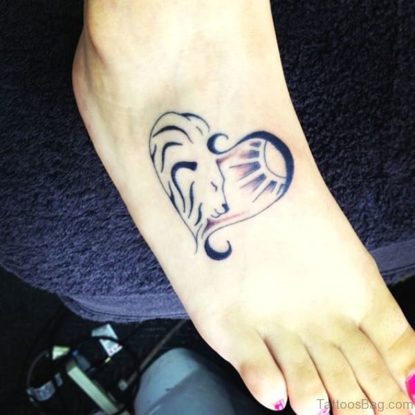 Attractive Heart Tattoo