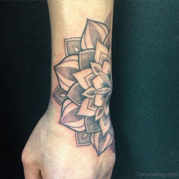 Attractive Mandala Tattoo