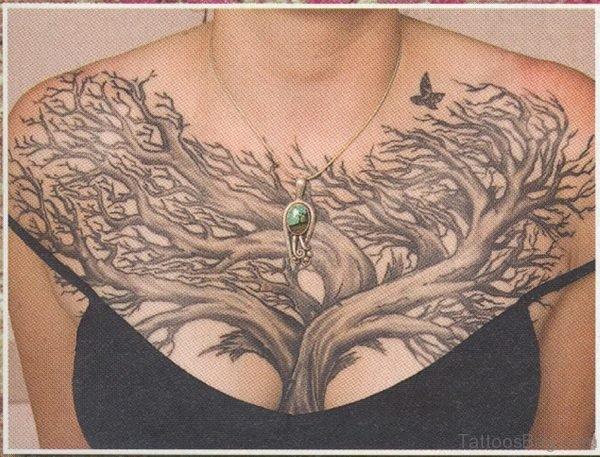 Attractive Tree Tattoo
