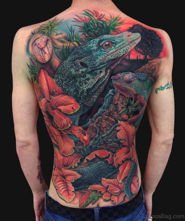Aweome Back Tattoo