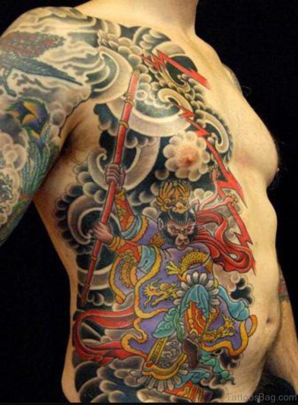 Excellent Rib Tattoo