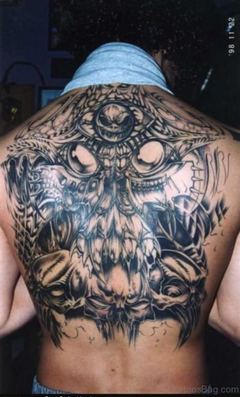 Awesome Alien Tattoo