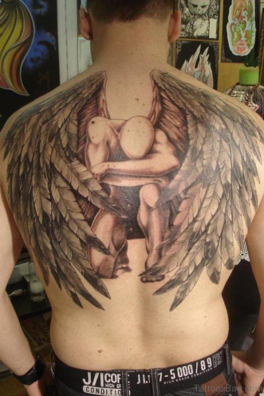 Awesome Angel Tattoo