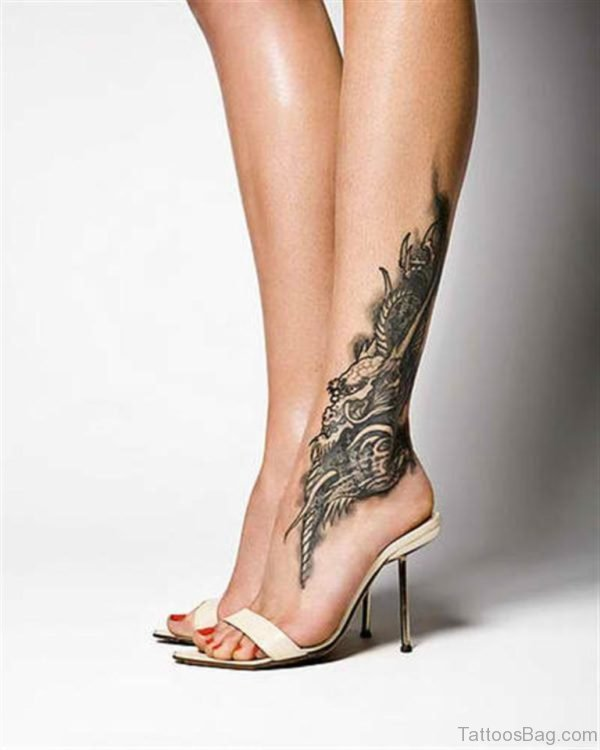 Awesome Ankle Tattoo