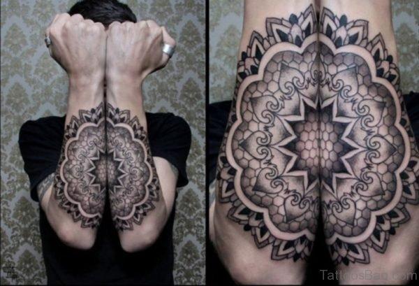 Awesome Arm Mandala Tattoo