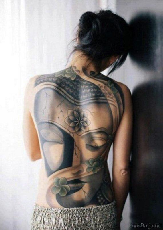 Awesome Back Tattoo TB1017