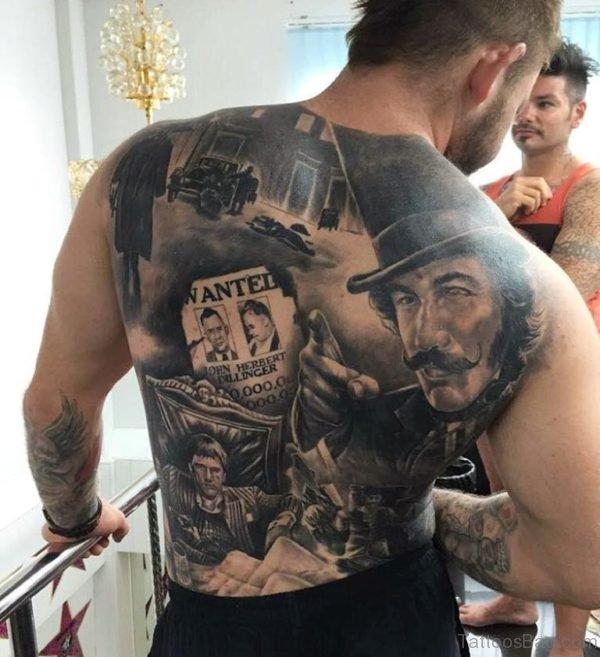 Nice Back Tattoo