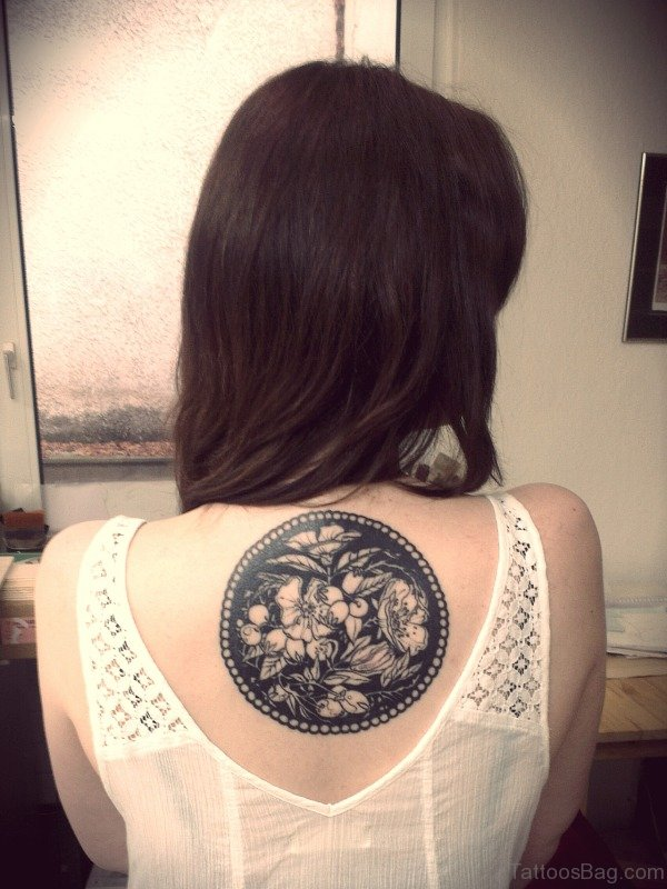 Round Tattoo On Back