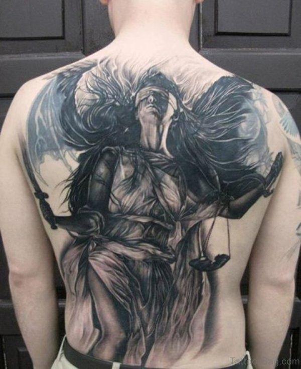Great Back Tattoo