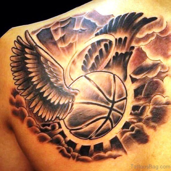 Basketball Chest Tattoos: 67 Superb Basketball Tattoos On Shoulder
