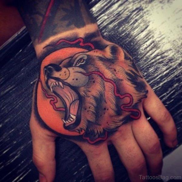 Awesome Bear Tattoo