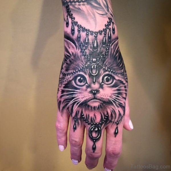Awesome Cat Tattoo