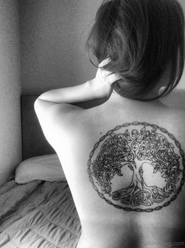 Awesome Celtic Tree Tattoo
