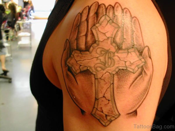 Awesome Cross Tattoos On Arms